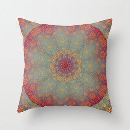 Boho Mandala IV Throw Pillow