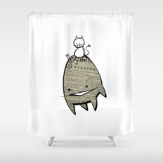 minima - joy ride Shower Curtain