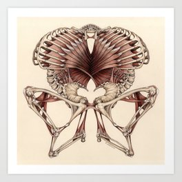 OUTSIDE: Invented Anatomy Art Print