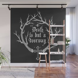 Death is but a Doorway Inverted Wall Mural
