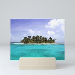 Robinson Island | San Blas Panama Mini Art Print