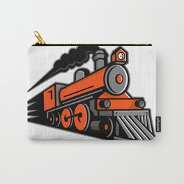 Steam Locomotive Speeding Mascot Carry-All Pouch
