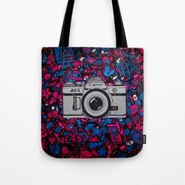 canon retro art Tote Bag