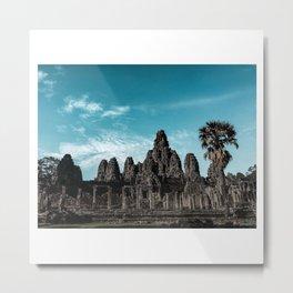 Wanderings in Angkor Wat Metal Print