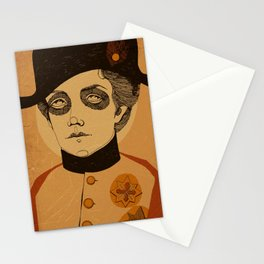 An Officer and a Lady Stationery Cards