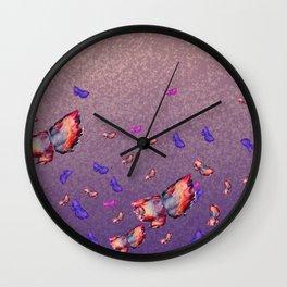 GLITTERFLIES Wall Clock
