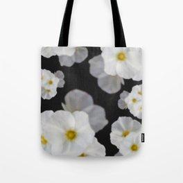 Dreaming white blossom flower Tote Bag