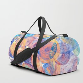 Floral abstract(44) Duffle Bag
