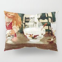 """Goldilocks and the Porridge"" by Jessie Willcox Smith Pillow Sham"
