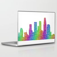 los angeles Laptop & iPad Skins featuring Los Angeles by David Zydd