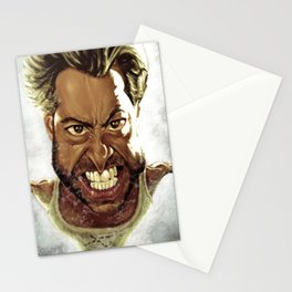 Wolverine Caricature Stationery Cards