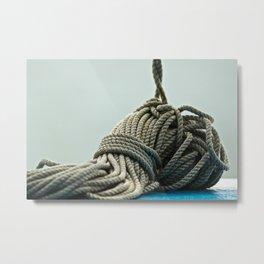 Tie You Up Metal Print