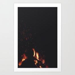 FIRE 4 Art Print