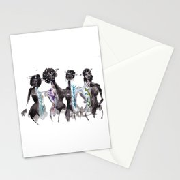 Saturn Sisters Stationery Cards
