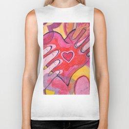 You Have My Heart Biker Tank