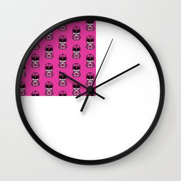 Power Chibi Pink Ranger Wall Clock
