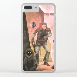 Mos Eisley Cantina Clear iPhone Case