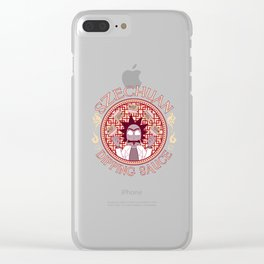 Szechaun Dipping Sauce Clear iPhone Case