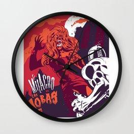 El Milagro VS Las Lobas Wall Clock