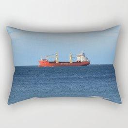 Lonely Ship Rectangular Pillow