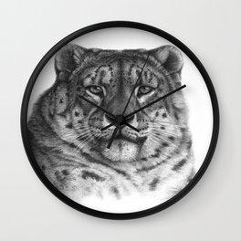 Snow Leopard G078 Wall Clock