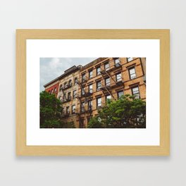 Greenwich Village Framed Art Print