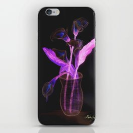 Physodelic Calla Lilies iPhone Skin
