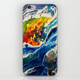 Deep Sea Rainbow iPhone Skin