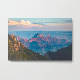 North Rim Sunset, Grand Canyon National Park Metal Print