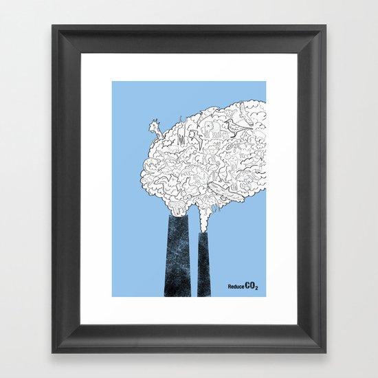Animal Extinction Framed Art Print