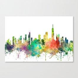 Chicago, Illinois Skyline SP Canvas Print