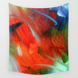 Freedom With Art Wall Tapestry