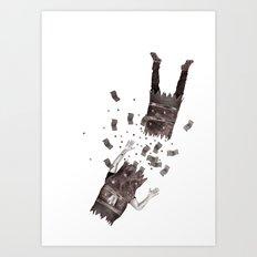 Money Cracker Art Print