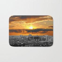 City Skyline #2 Bath Mat