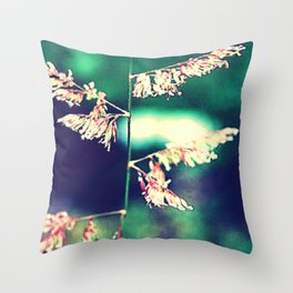 Flowers in Germany Throw Pillow