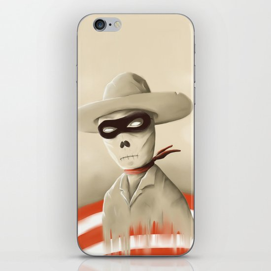 Wild wild death iPhone & iPod Skin