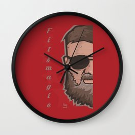 Fitzmagic Wall Clock
