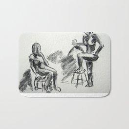 Nude Pair, Confrontation Bath Mat