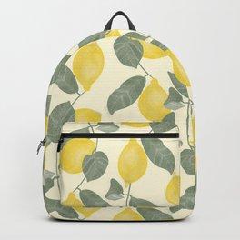 Citrus Pattern Backpack