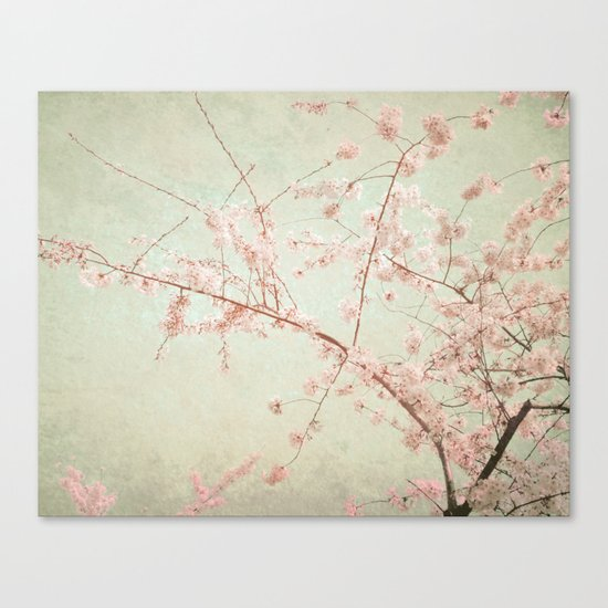 """Pink Rapture"" Canvas Print"