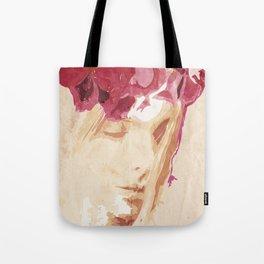 Flower portrait Tote Bag