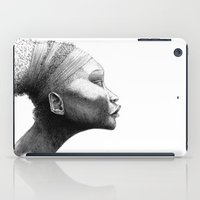 afro iPad Cases featuring Afro by Vito Quintans
