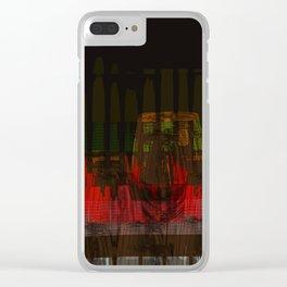 Glass artwork Clear iPhone Case