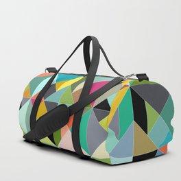 tangram geo multi Duffle Bag