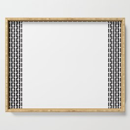 Linear Square Serving Tray