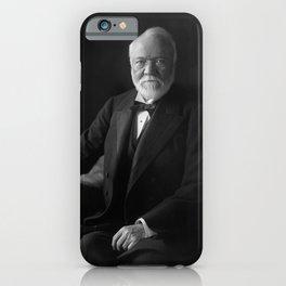 Andrew Carnegie Portrait - 1905 iPhone Case