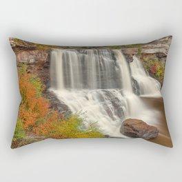 Blackwater Autumn Falls Rectangular Pillow