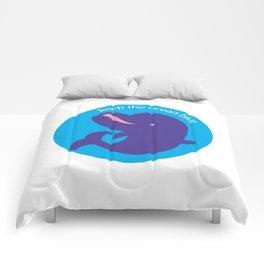 Keep the Ocean Blue_02 Comforters