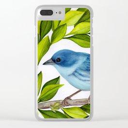 Cerulean Warbler Clear iPhone Case