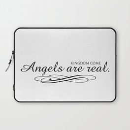 Angels are real. Laptop Sleeve